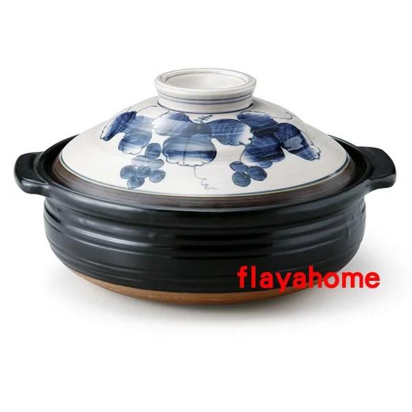 《富樂雅居》日本製 萬古燒砂鍋 古染葡萄 9號陶土鍋(4~5人份) | FLAYA HOME - Rakuten樂天市場