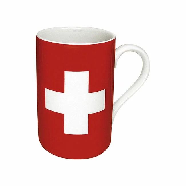 《富樂雅居》德國Konitz馬克杯-世界國旗 瑞士國旗杯 | FLAYA HOME - Rakuten樂天市場