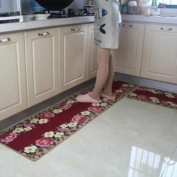 廚房地墊長條防滑吸水防油滿鋪家用門口入戶腳墊地墊床邊毯 - 臺灣樂天市場 - LINE購物