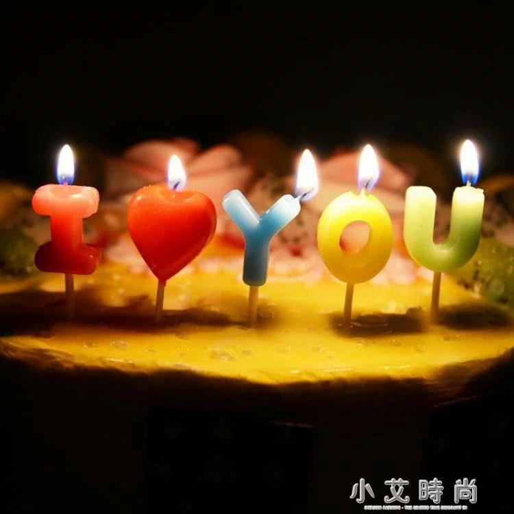 生日快樂字母蠟燭浪漫創意兒童派對佈置寶寶生日蠟燭蛋糕數字蠟燭 | 韓尚優品 - Rakuten樂天市場