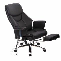 Desk Chair Footrest Dunnes Stores Dining Covers Factory Direct Executive Vibrating Massage Office With 0