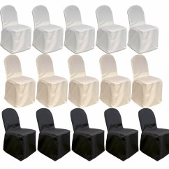 Chair Covers Decorations Target Dining Chairs Gray Mcombo 100 Pcs Polyester Banquet Wedding Party 7000 4000 0