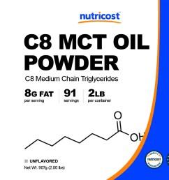 c8 mct oil powder non gmo gluten free made in u s a  [ 2388 x 952 Pixel ]
