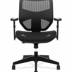 Office Chair High Seat Personalized Camp Chairs Essentials Hon Prominent Back Task Mesh And For Computer Desk