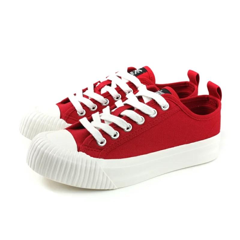 KANGOL 休閒鞋 帆布 女鞋 紅色 厚底 6952200140 no028   HUMAN PEACE - Rakuten樂天市場