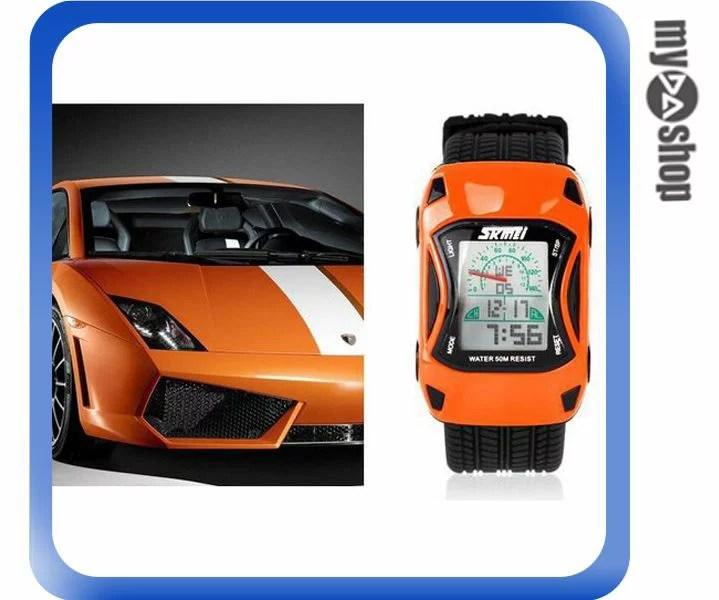 橘色電子錶 的價格 - 飛比價格