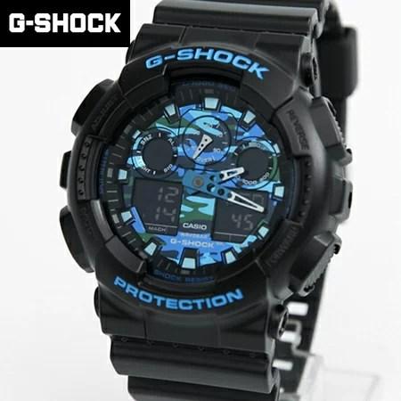G-SHOCK 黑藍迷彩手錶 柒彩年代【NECG17】casio   柒彩年代 - Rakuten樂天市場