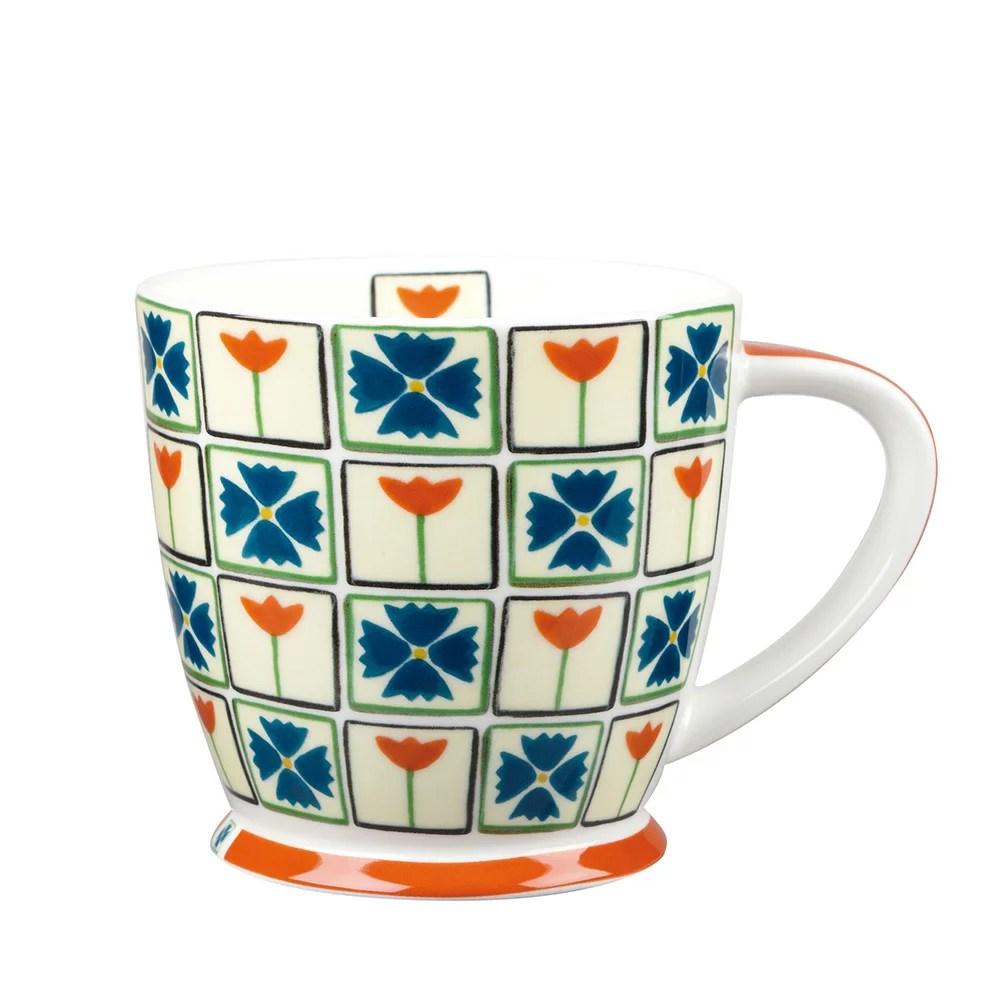 Garden Flowers 橘花園骨瓷馬克杯(Dee Hardwicke 設計款)   LYNX COLLECTION - Rakuten樂天市場