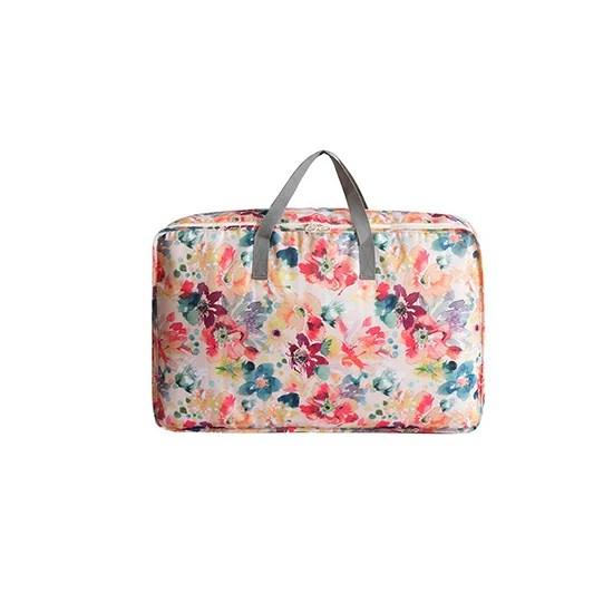 花草系列大容量棉被收納袋(小) 旅行行李袋 防塵 防髒 滌綸 防水 防潮 ♚MY COLOR♚【P513】 | Mycolor - Rakuten樂天市場