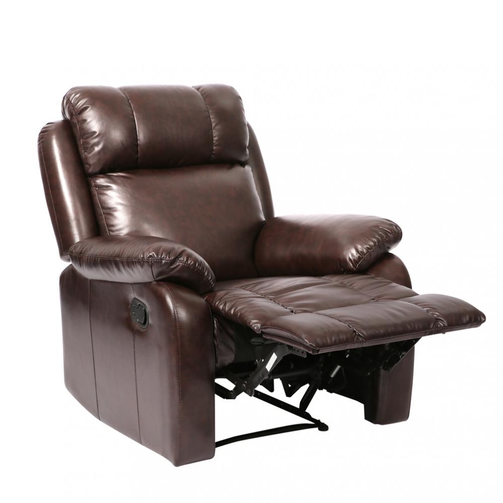 Leather Reclining Chairs Recliner Chair Classic Leather Living Room Reclining Furniture