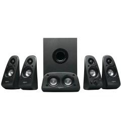 logitech z506 6 piece 5 1 channel surround sound speaker system 980 000458 0 [ 1500 x 1500 Pixel ]