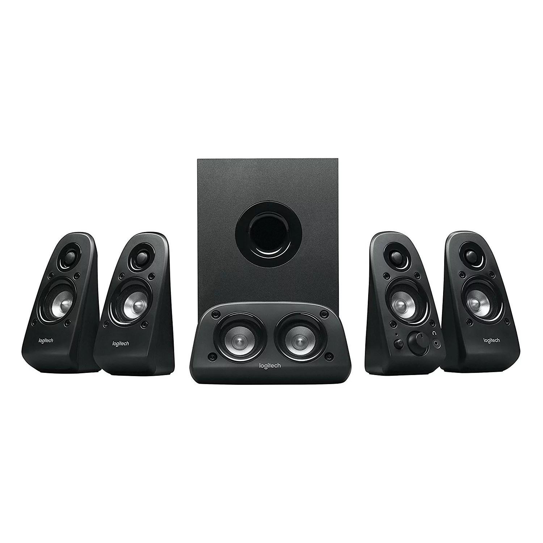 hight resolution of logitech z506 6 piece 5 1 channel surround sound speaker system 980 000458 0