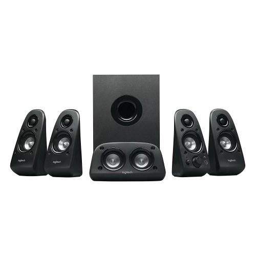 small resolution of logitech z506 6 piece 5 1 channel surround sound speaker system 980 000458 0