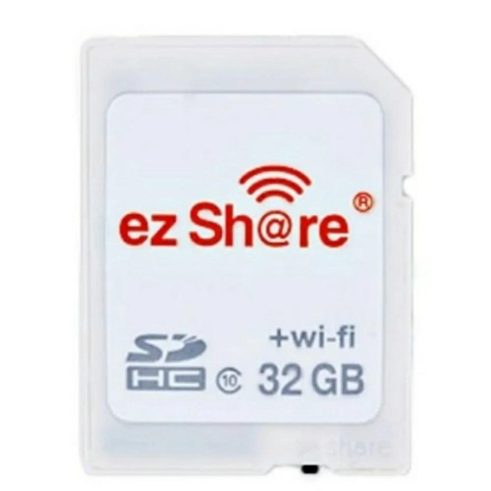 又敗家@易享派ezShare無線wi-fi SD記憶卡32G wifi熱點SDHC卡32GB(Class 10,分享照片google+FB臉書facebook)ez Share ES100 explorer適 ...
