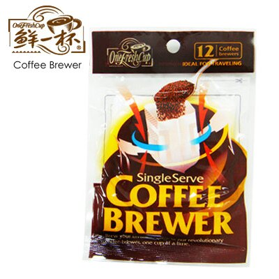 Onefreshcup 鮮一杯 滴濾式咖啡濾袋 12枚/包   Coffeego 咖啡購 - Rakuten樂天市場