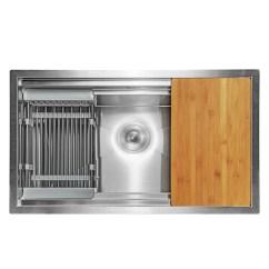 30 Kitchen Sink Diy Cabinet Doors Akdy X 18 9 Undermount Handmade Stainless Steel Single Bowl Space