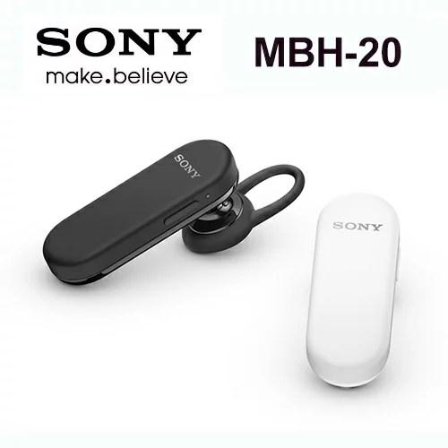 【新品上架】SONY MBH20/MBH-20~ A2DP 藍牙3.0 原廠耳掛式藍芽耳機