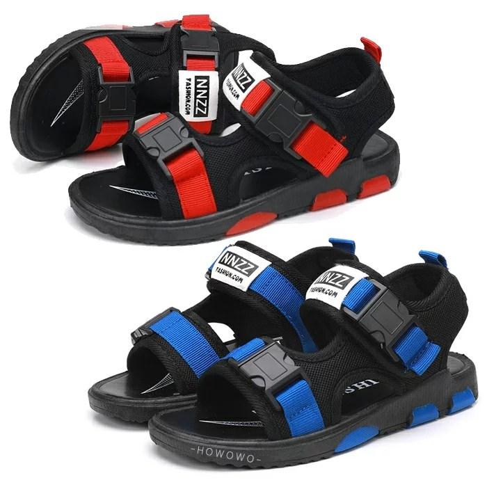中大童涼鞋 男童涼鞋 兒童機能涼鞋 透氣防滑休閒鞋 (17-19CM) KL51 好娃娃   好娃娃親子生活館 - Rakuten樂天市場