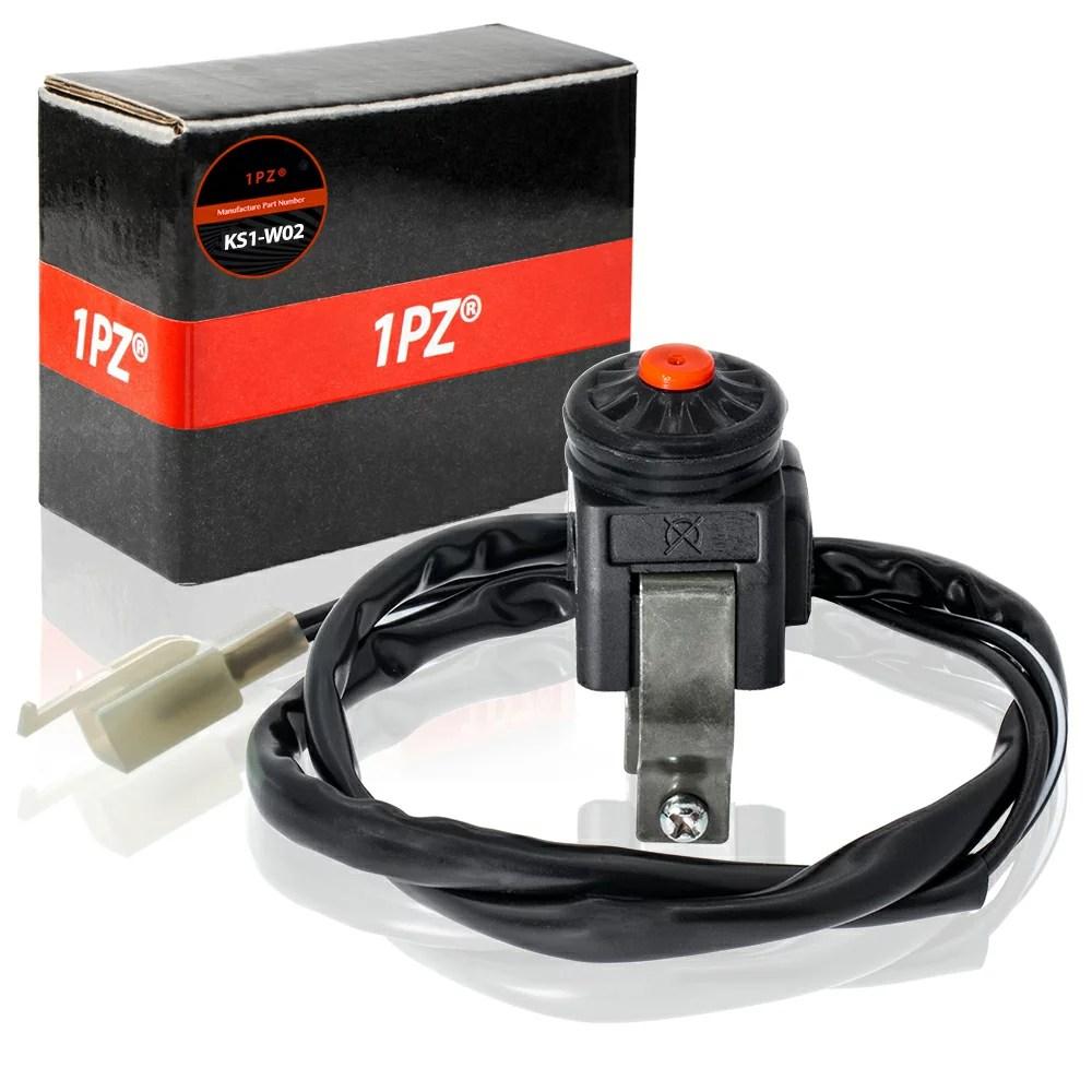 hight resolution of 1pz ks1 w02 universal kill switch 2 wires for dirt pit bike motorcycle motovox mvx70