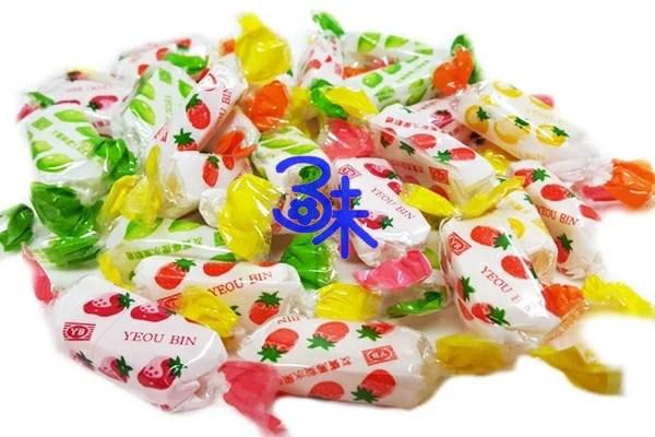(臺灣) 友賓 綜合水果軟糖 1包 600 公克 (約100小包) 特價 90 元 (知心軟糖 聖誕糖 喜糖 活動用糖 不到1元糖果) 全 ...