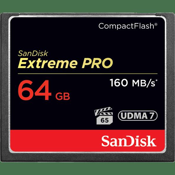 SanDisk 64GB EXTREME PRO CF 記憶卡 讀160 寫150 64G COMPACTFLASH | iPanic - Rakuten樂天市場