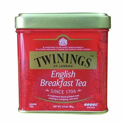 TWINING 唐寧紅茶-英倫早餐茶 罐裝茶葉100g/罐   良鎂咖啡精品館 - Rakuten樂天市場