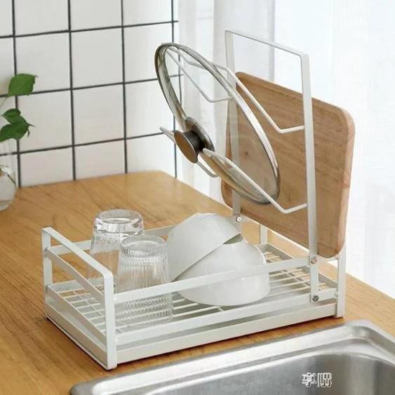 放碗碟架瀝水架廚房盤子杯子餐具碗筷收納架瀝水籃晾碗架鍋蓋架2ATF | 摩可美家 - Rakuten樂天市場