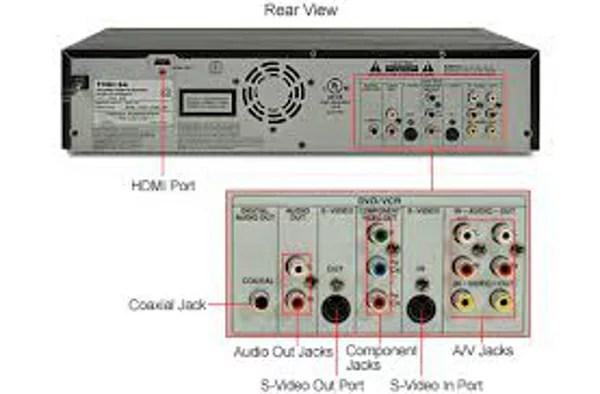 Motorola Cable Box Wiring Diagram Electronic Palace Toshiba Dvr620 Dvd Recorder Vcr Combo