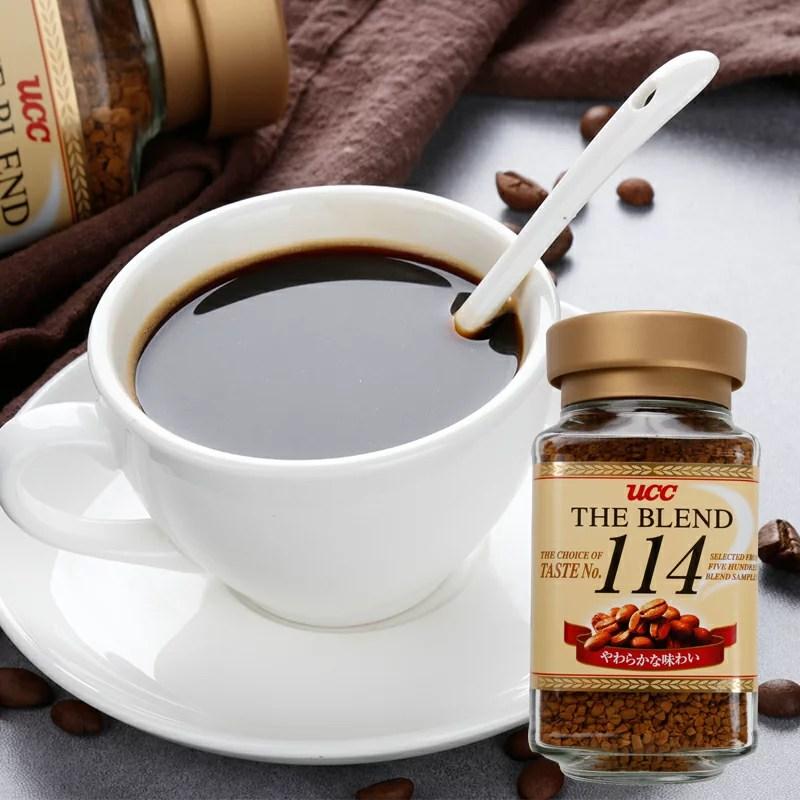 咖啡沖泡6折特賣【UCC】114咖啡 90g 即溶黑咖啡 沖泡粉 日本進口咖啡   挑食屋PIKIYA - Rakuten樂天市場