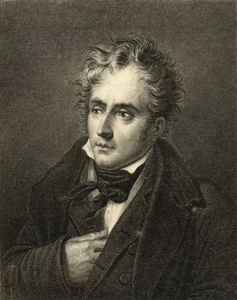 François-rené De Chateaubriand : françois-rené, chateaubriand, Posterazzi:, Francois, Chateaubriand, 1768-1848