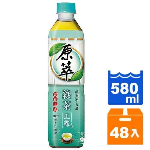 原萃 綠茶玉露 580ml (24入)x2箱   康鄰超市好康物廉網 - Rakuten樂天市場