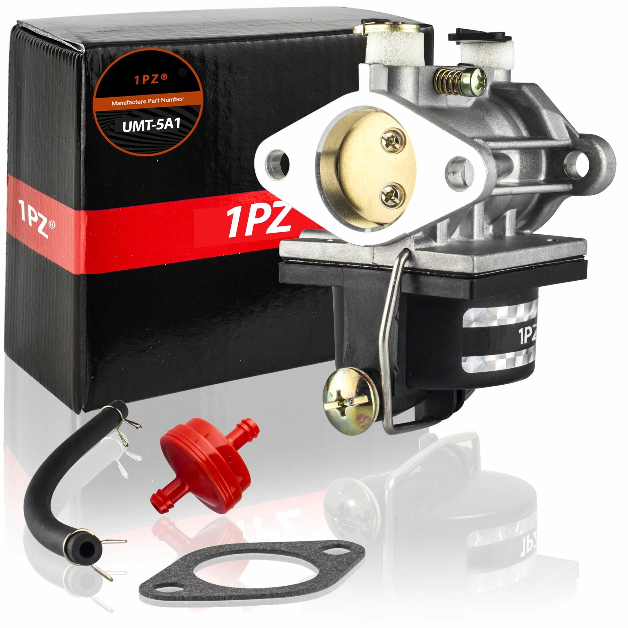 hight resolution of 1pz umt 5a1 carburetor with fuel filter gasket fuel line for ecumseh 640065 ohv110 ohv115