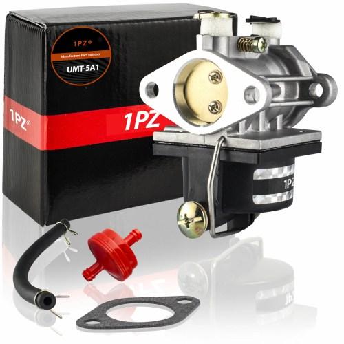 small resolution of 1pz umt 5a1 carburetor with fuel filter gasket fuel line for ecumseh 640065 ohv110 ohv115