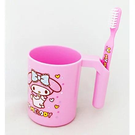 敵富朗超巿 |臺灣樂天市場:[敵富朗超市]美樂蒂漱口杯附牙刷