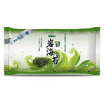 統一生機~巖海苔4.8公克×3入/包~即日起特惠至5月28日數量有限售完為止   綠色生機健康館 - Rakuten樂天市場