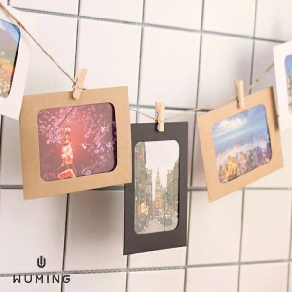 創意DIY 組合相框 牆掛 相冊 相冊 紙相框 懸掛 裝飾 牆貼 壁貼 照片 手工 旅遊 『無名』 P08123 - 無名小物 ...