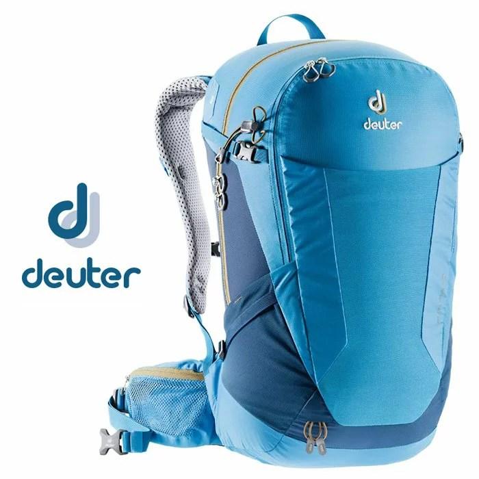 【Deuter 德國】Futura 28 網架透氣背包 旅行後背包 健行背包 單車背包 藍色〈容量28L〉(3400518) | 鄉野情戶外休閒 ...