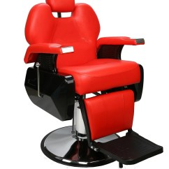 All Purpose Salon Chairs Reclining Best Affordable Office Chair Reddit Mcombo Barberpub Hydraulic Recline Beauty Spa Styling Barber Red 0