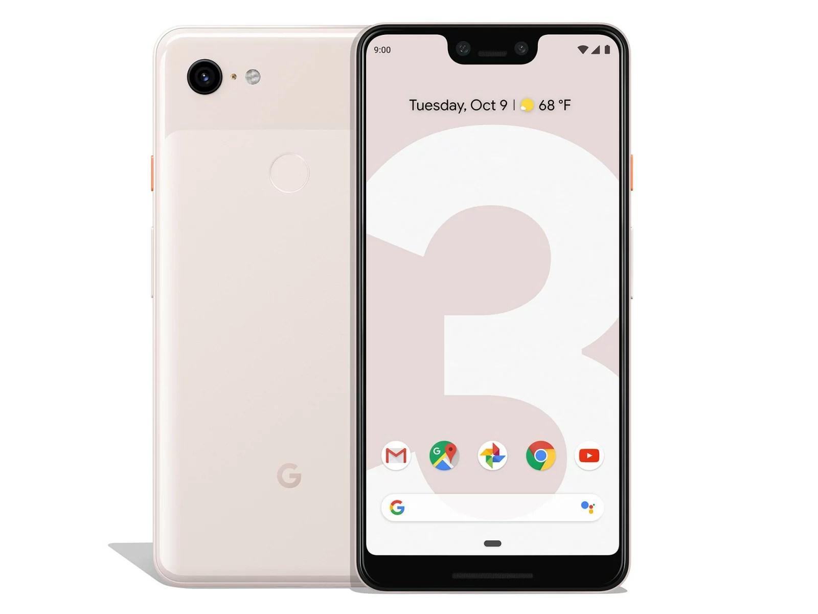 BuySPRY: Google Pixel 3 XL Not Pink 64GB Factory Verizon + GSM Unlocked Smartphone | Rakuten.com