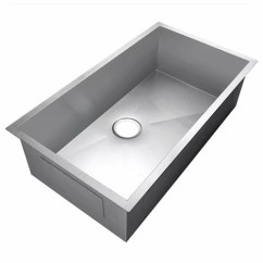 Undermount Single Bowl Kitchen Sink Cabinet Replacement Shelves Akdy 30 X 18 9 16 Gauge Stainless Steel