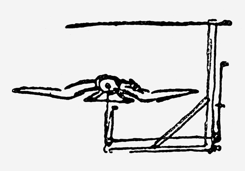 Posterazzi: Leonardo Invention Napparatus For Determining