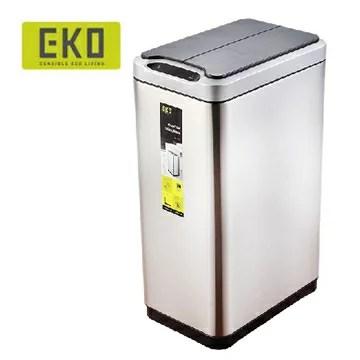EKO 幻影自動感應不鏽鋼垃圾桶 30L x1 大容量 | HOME WORKING - Rakuten樂天市場