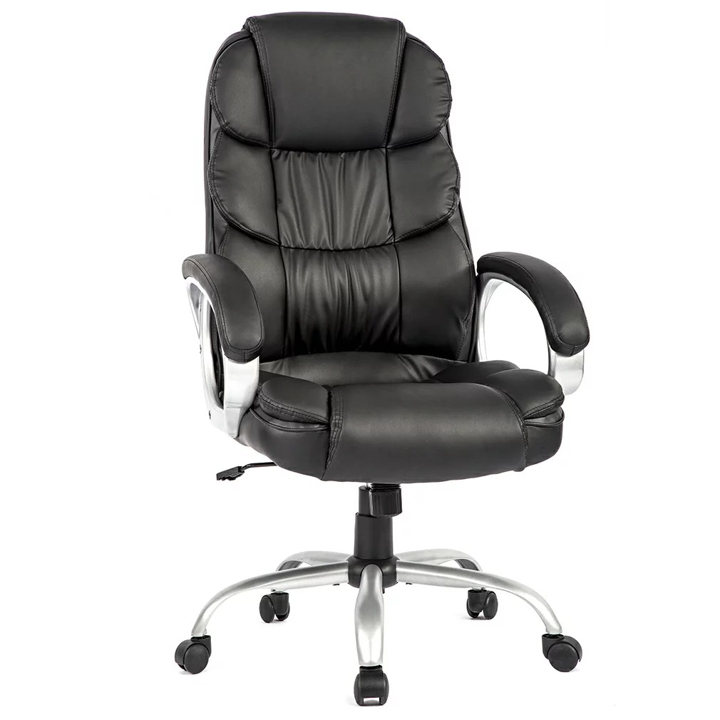 Ergonomic Chair Office Chair Desk Ergonomic Swivel Executive Adjustable Task Computer High Back Chair With Back Support In Home