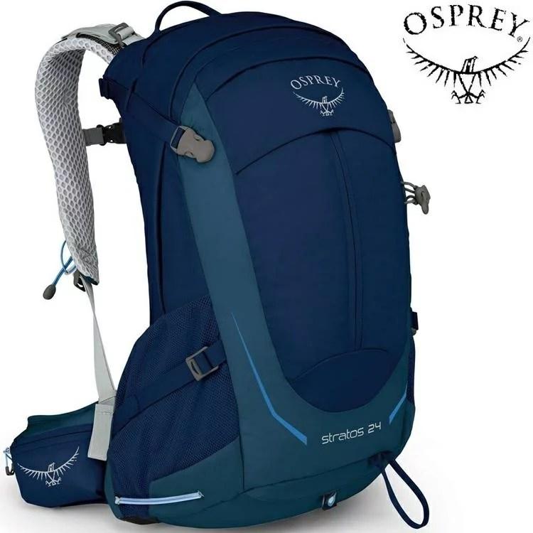 Osprey Stratos 24 登山背包/郊山背包/透氣網架背包 男款 暗夜藍 - 臺灣樂天市場 - LINE購物