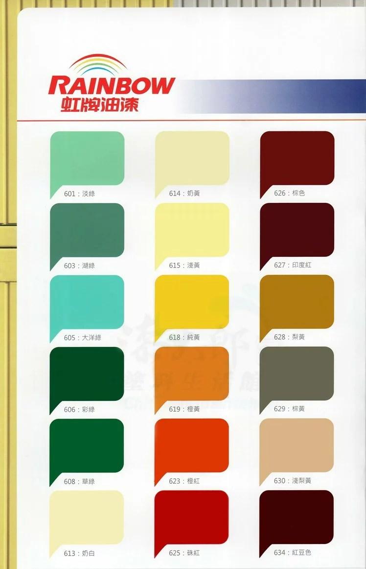 【虹牌】油性水泥漆-水泥地板可用耐磨美觀 - 漆太郎塗料生活館