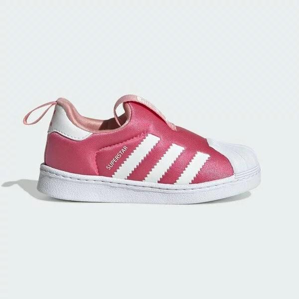 Adidas Superstar 360 I [EF6629] 小童鞋 運動 休閒 慢跑 基本 貝殼 穿搭 愛迪達 粉白   kixpress - Rakuten樂天市場