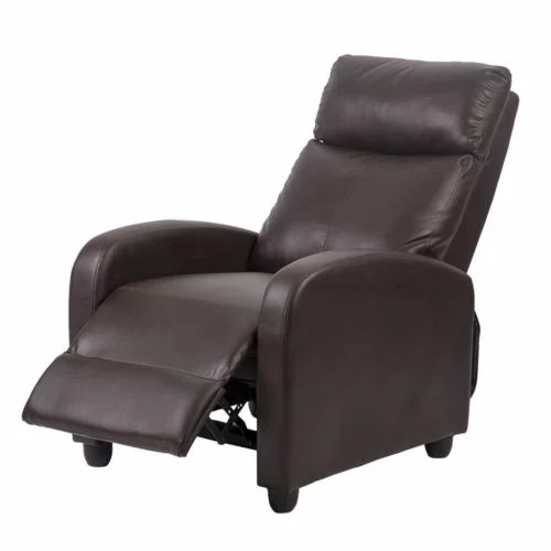 Factory Direct Recliner Chair Modern Leather Chaise Couch
