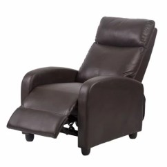 Recliner Chair Leather Georgia Company Factory Direct Modern Chaise Couch Single Accent Sofa 0