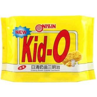 Kid-O 日清 奶油三明治 350g   康鄰超市好康物廉網 - Rakuten樂天市場