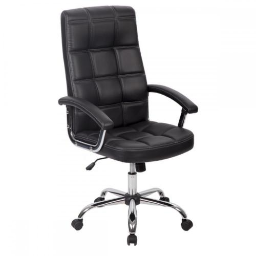 office chair posture buy dining upholstered factory direct high back executive ergonomic computer desk black 0
